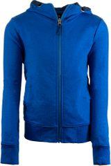 ALPINE PRO dětská mikina DENESO 116 - 122 modrá