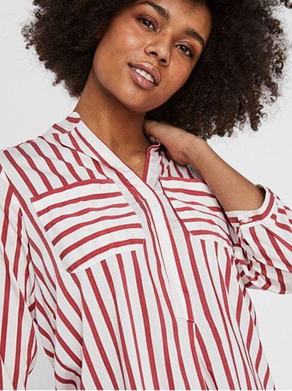 Vero Moda Ženska bluza VMERIKA STRIPE 3/4 SHIRT