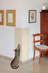 Karlie drapak narożny beżowy, 28x80 cm