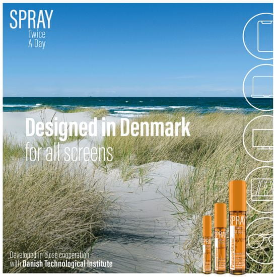 PanzerGlass PanzerGlass Spray Twice a Day - dezinfekčný antibakteriálny sprej (100 ml) 8952