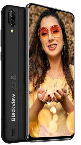 iGET Blackview A60 pametni telefon, 1/16 GB, črn