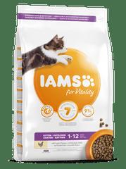 IAMS Vitality hrana za mačje mladiče, s svežim piščancem, 800 g