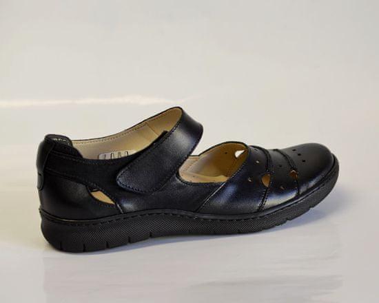 Dámská kožená vycházková obuv
