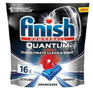 Finish Quantum Ultimate - kapsle do myčky nádobí 16 ks