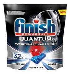 Finish kapsułki do zmywarki Quantum Ultimate, 32 szt.