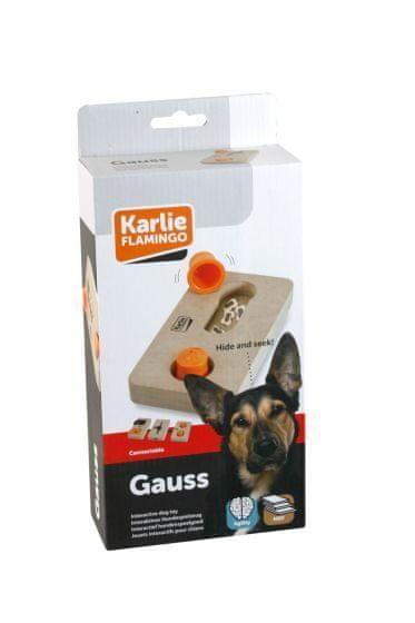 Karlie interaktivní dřevěná hračka GAUSS 22x12 cm