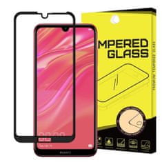 MG Full Glue zaščitno steklo za Huawei Y7 2019 / Pro / Prime, črna