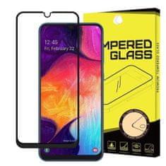 MG Full Glue zaščitno steklo za Samsung Galaxy A40, črna