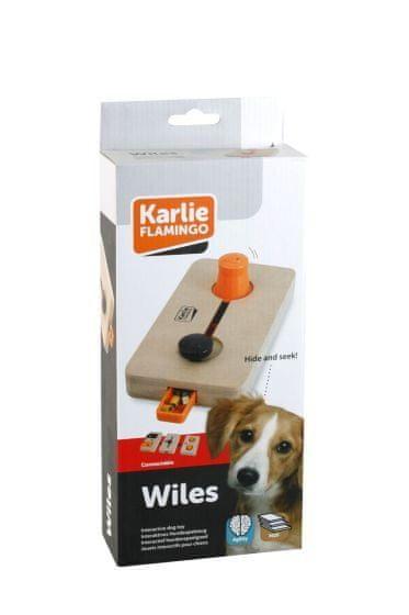 Karlie interaktivní dřevěná hračka WILES 22x12 cm