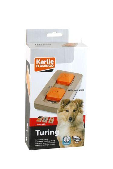 Karlie interaktivní dřevěná hračka TURING 22x12 cm