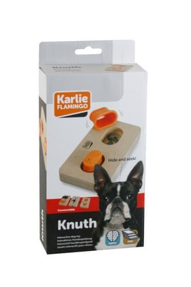 Karlie interaktivní dřevěná hračka KNUTH 22x12 cm