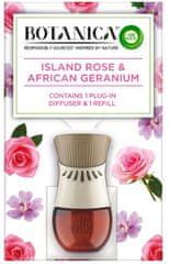 Air wick Botanica by Air Wick elektromos légfrissítő - készülék és utántöltő Exotikus rózsa és afrikai muskátli 19 ml