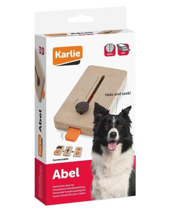 Karlie interaktivní dřevěná hračka ABEL 22x12 cm