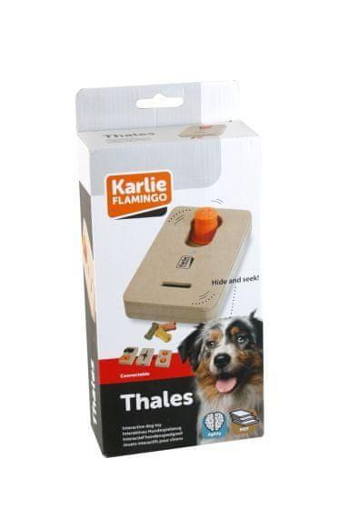 Karlie interaktivní dřevěná hračka THALES 22x12 cm