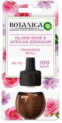 Air wick Botanica by Air Wick tekoče polnilo za električni osvežilec zraka Eksotična vrtnica in afriški geranij, 19 ml