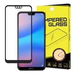 MG Full Glue zaščitno steklo za Huawei P20 Lite 2018, črna