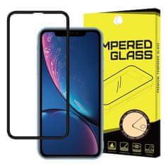 MG PRO+ 5D Full Glue zaščitno steklo za iPhone 11 / XR, črna