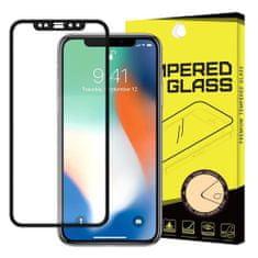 MG Full Glue zaščitno steklo za Apple iPhone 11 / XR, črna