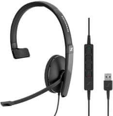 Sennheiser slušalke SC 130 USB, mono