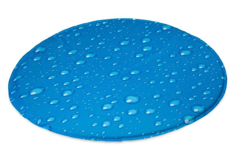 Karlie chladící podložka vzor kapky, průměr 60 cm