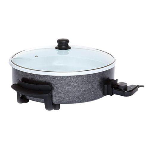 Clatronic Clatrnonic PP 3570, miska ceramiczna elektryczna XXL, średnica 42, Clatrnonic PP 3570, miska ceramiczna elektryczna XXL, średnica 42