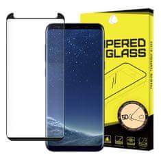MG 5D Full Glue zaščitno steklo za Samsung Galaxy S8, črna