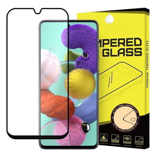MG Full Glue zaščitno steklo za Samsung Galaxy A51, črna