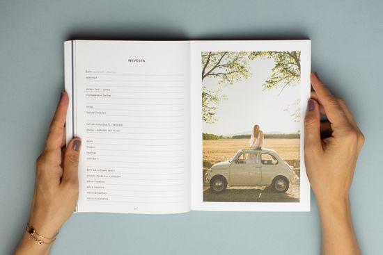 Naše svatba - moderní minimalistký svatební plánovač od Everbay, skvělý dárek pro nevěstu