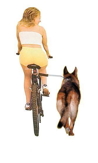 Karlie vodítko na kolo WalkyDog plus