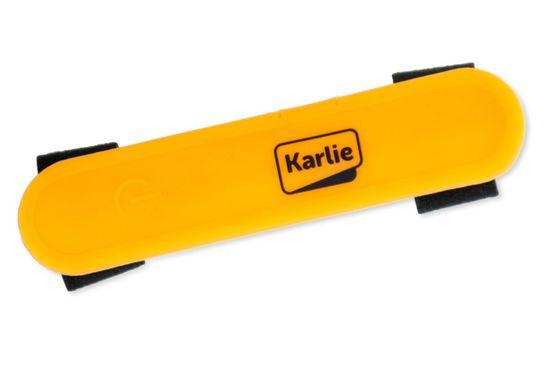 Karlie światło LED z USB na obrożę, smycz, szelki, pomarańczowe, 12x2,7 cm