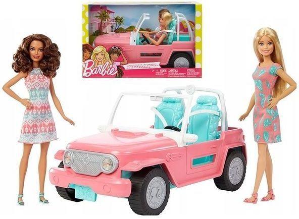 Mattel Panenky Barbie s Jeepem