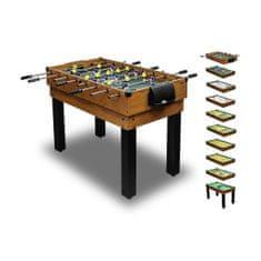 Carromco Multifunkčný hrací stôl Choice-XT 10v1