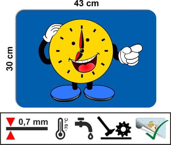 RoomDecor.eu Dětské prostírání-0014 modrá - 4 Ks