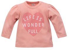PINOKIO dívčí tričko Spring Light 1-02-06-410K-RO 104 růžová