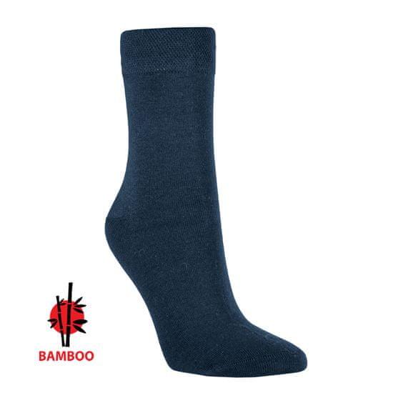 RS Pánské zdravotní bambusové antibakteriální ponožky bez gumiček 43039 3-pack