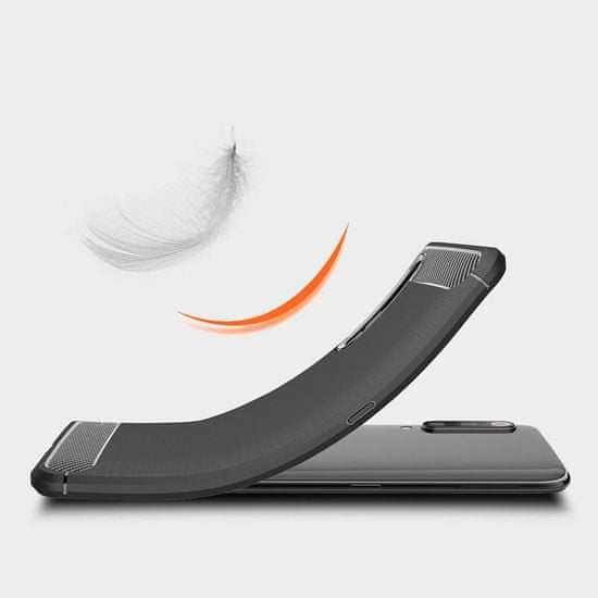MG Carbon Flexible silikonski ovitek za Xiaomi Mi 9, modra