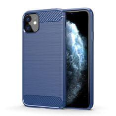MG Carbon Case Flexible silikonski ovitek za iPhone 11, modro