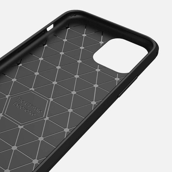 MG Carbon Case Flexible silikonski ovitek za iPhone 11 Pro, modro