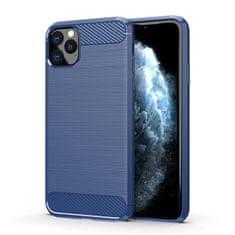 MG Carbon Case Flexible silikonski ovitek za iPhone 11 Pro Max, modro