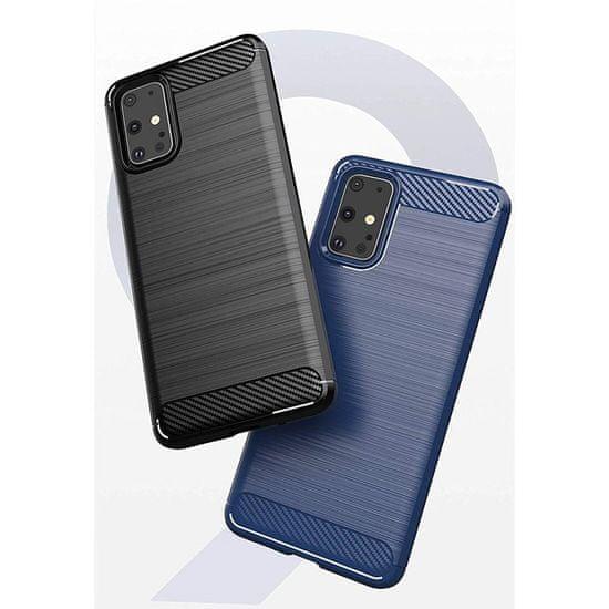 MG Carbon Flexible szilikon tok Samsung Galaxy S20, kék