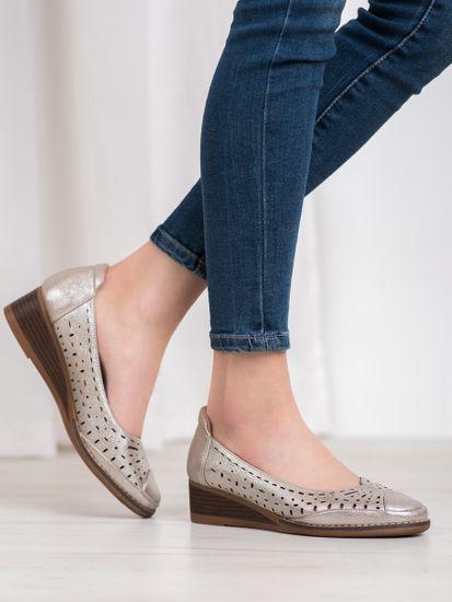 Vinceza Női körömcipő 64064 + Nőin zokni Gatta Calzino Strech