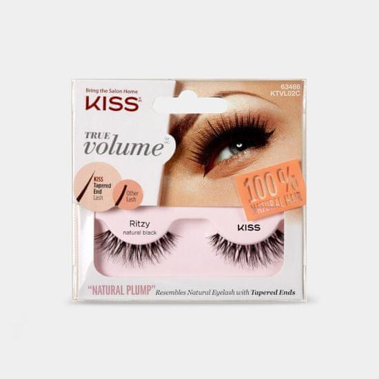KISS Umělé řasy pro maximální objem True Volume 1 pár