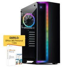 PCplus GAMER namizni računalnik (139287) + DARILO. 1 leto Office 365 Personal