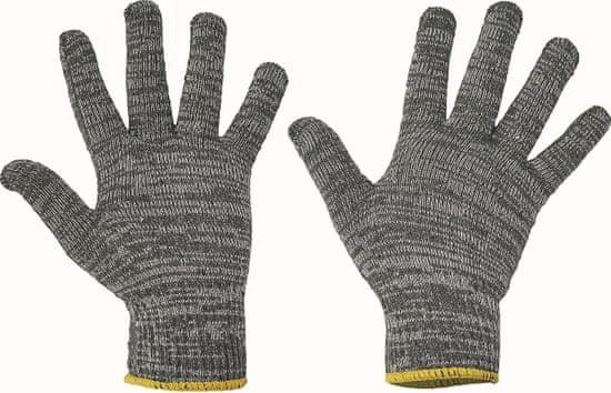 Fridrich&Fridrich Textilní pracovní rukavice Bulbul Light HS 04-013, mechanické - unikátní