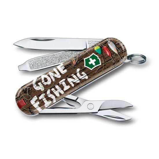 Victorinox žepni nož Classic Gone Fishing
