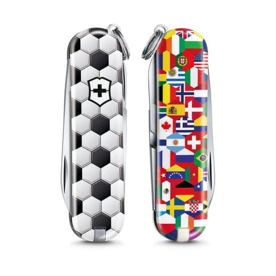 Victorinox žepni nož Classic World Of Soccer