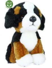 Rappa pluszowy berneński pies pasterski, w pozycji siedzącej, 18 cm, ECO-FRIENDLY