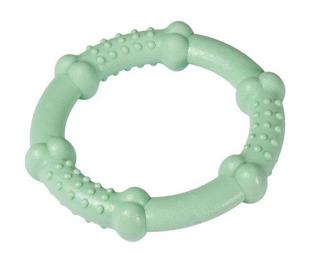 Karlie hračka pro psy kousací kruh mátový 12 cm