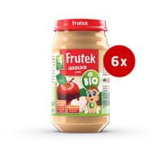Fructal Frutek bio otroška kaša, jabolko, 6 x 190 g