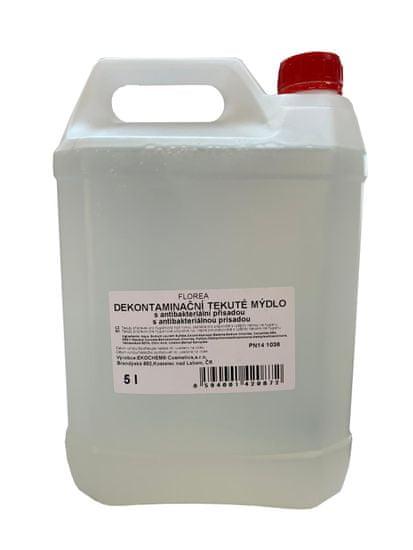 Dekontaminační tekuté mýdlo s antibacteriální přísadou na ruce 5 l